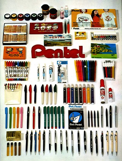 Pentel of Germany - Catalog 1975 Cover