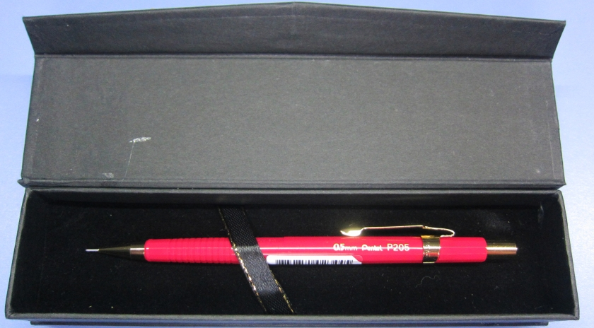 D - Gift Box - Pentel P205 Gilded Pencil Box (XBL5) - 2019