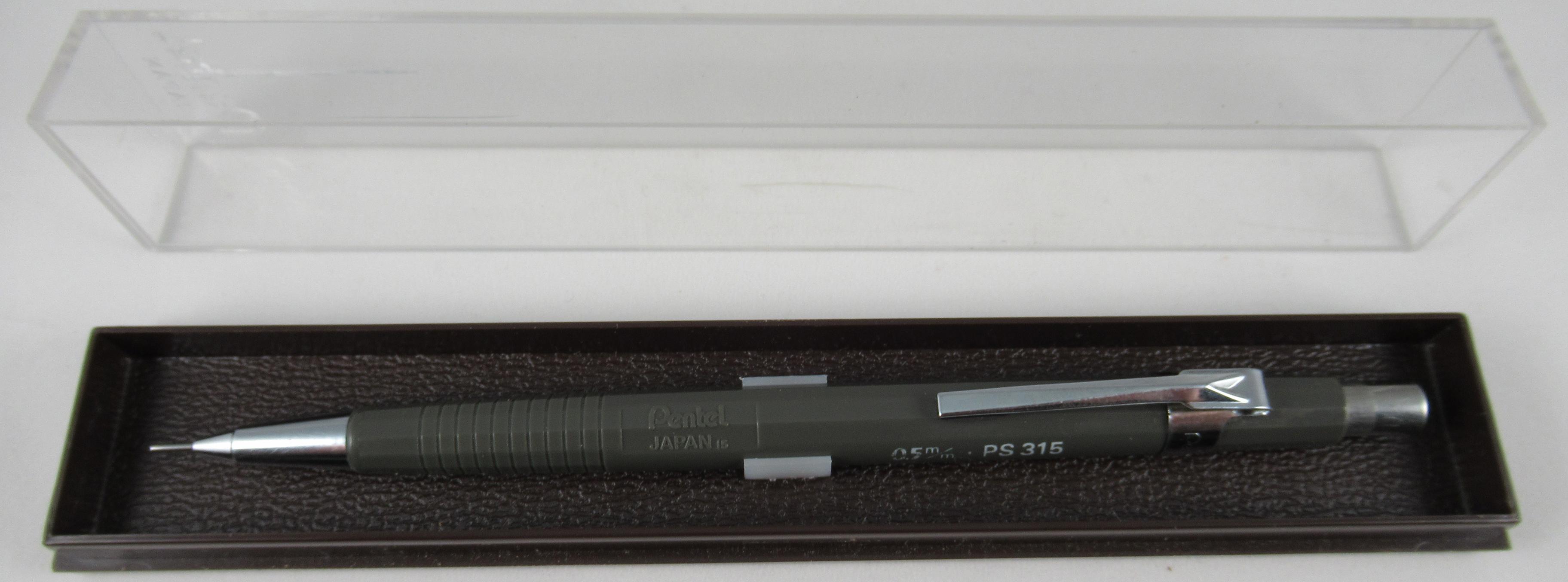 D - PentelCase - Single Pencil Case (PS315N) - 1355