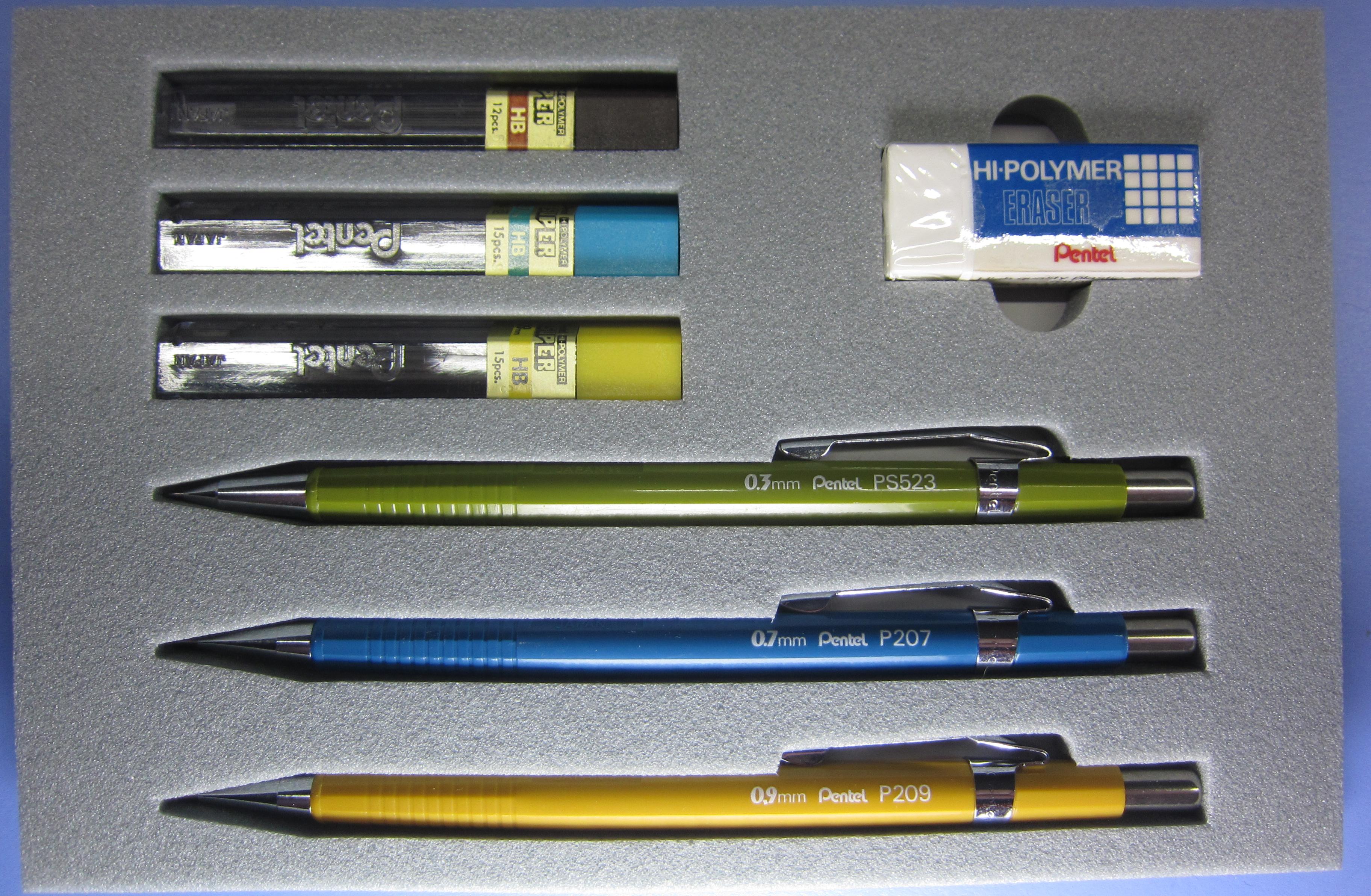 D - Present 1 - Pentel Presentation Set (PS523, P207, P209) - 2440
