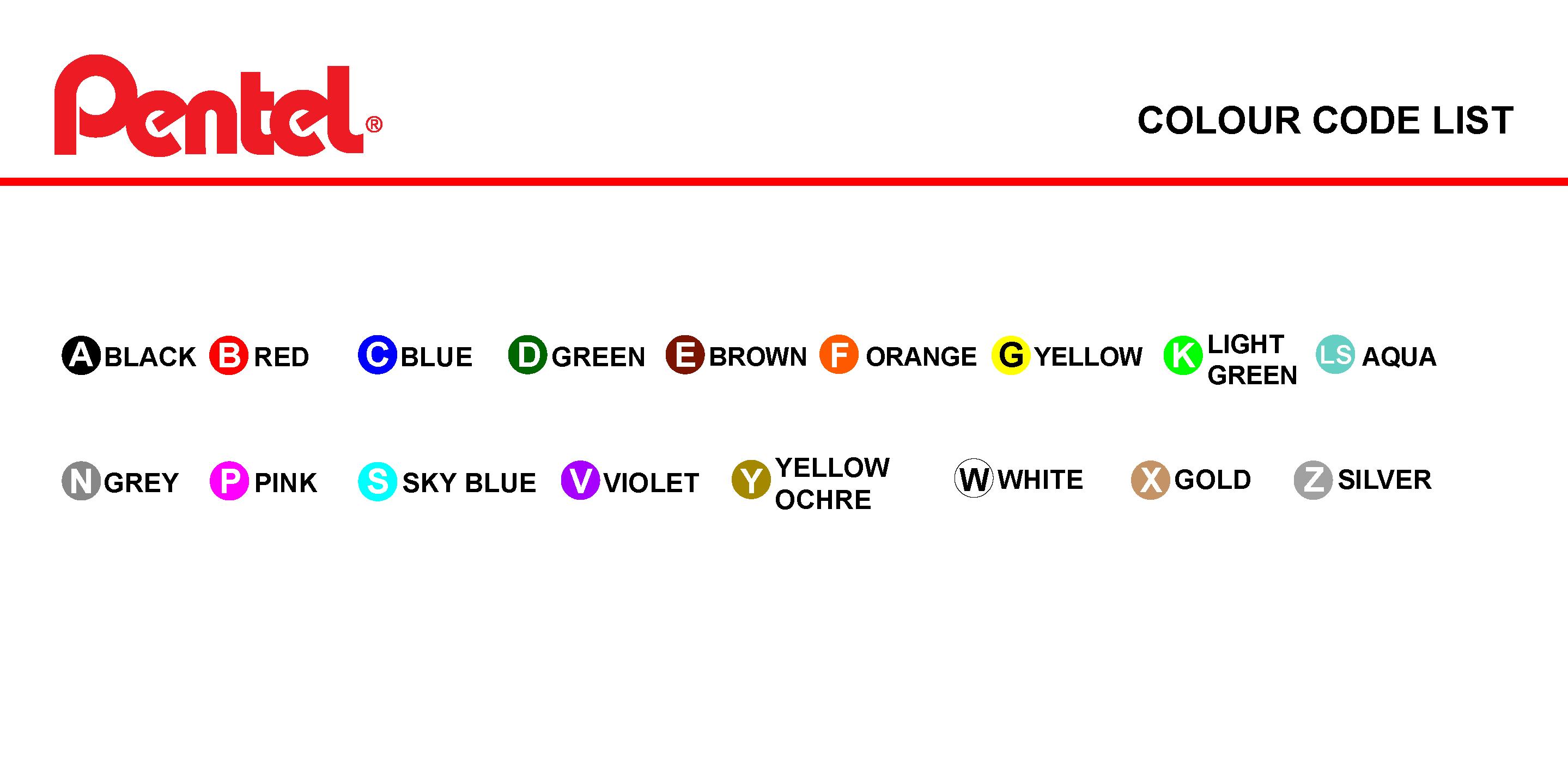 web-colour-code-list
